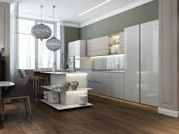 kitchen island open shelves interior design