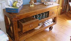 kitchen island drawers bar reclaimed wood movable kitchen island with drawers and open