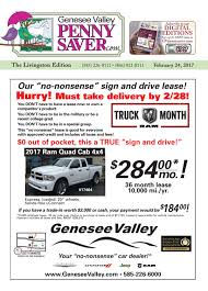 the genesee valley penny saver livingston edition 2 24 17 by