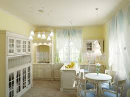 Kitchen Curtain Sets Choosing The Right Kitchen Window Treatments Interior Design