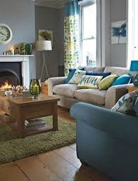Gray Blue Living Room I Can Envision Something Like This In Your Living Room The Beige