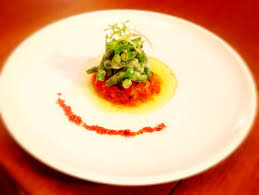 comment cuisiner les haricots verts salad of haricots verts tomato tartare and chive