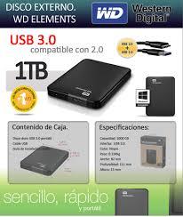 mega oferta disco externo wd 600 gb de programas marzo 2015