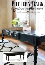 Coffee Table Price Pottery Barn Inspired Coffee Table Confessions Of A Serial Do It