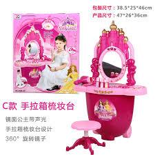 Childrens Play Vanity Children U0027s Toys Makeup Vanity Kit Suits Baby Girls Play House