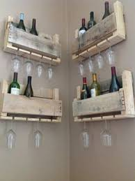 check out this wine rack taking the pallet wood upcycled rack to