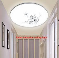hall and stairs lighting radar body sensor l control project led ceiling light hall