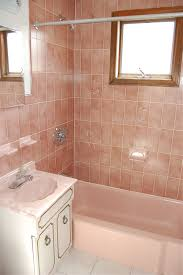 bathroom color schemes for small bathroom pink tile idea for small bathroom decoration refreshing