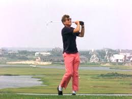 president kennedy on the links of hyannisport club august 1963