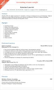 cpa resume example how to prepare an effective accountant resume to succeed