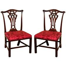 dining chairs beautiful chippendale mahogany dining room chairs