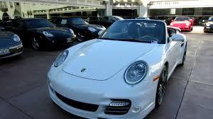 2011 porsche 911 turbo s cabriolet for sale 2011 porsche 911 turbo s cabriolet white black pdk 530 hp carbon