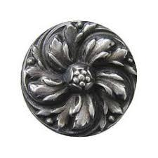 antique pewter cabinet hardware notting hill nhk 100 ap solid pewter cabinet knob chrysanthemum