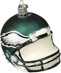 philadelphia eagles 1 75 resin football