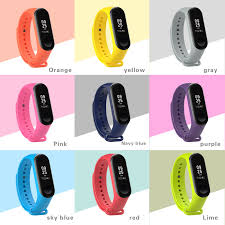 bracelet strap images Xiaomi band 3 silicone wrist strap for xiaomi mi band 3 bracelet jpg