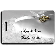 luggage tag save the date save the date luggage tags