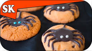 spider chocolate chip cookies halloween cookies youtube