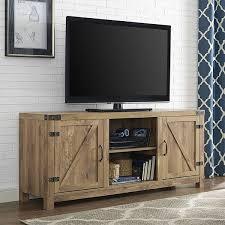 2 Door Tv Cabinet 58 Barn Door Tv Stand With Doors Barnwood Home Is Where The