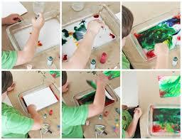 science u0026 art for kids marbled milk paper babble dabble do