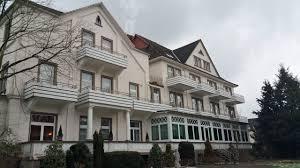 Bad Rothenfelde Klinik Garten Mit Gegenüber Liegender Klinik
