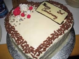 2nd wedding anniversary cakes pictures melitafiore