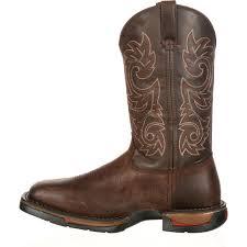 Comfortable Cowboy Boots Rocky Long Range Men U0027s Comfortable Western Work Boots