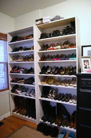 Ikea Billy Bookcase Shoes Thrift And Shout A Peek Into My Closet Room