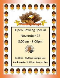 barry s thanksgiving open bowling special sun city west