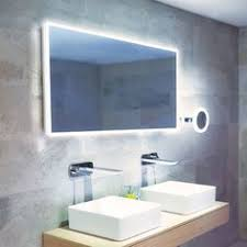 Led Light Mirror Bathroom Lena Led Illuminated Bathroom Mirror With Sensor Demister Pad And