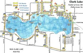 Chelsea Michigan Map by Walt Reed U0027s Observations Of Run Clark Lake 2010