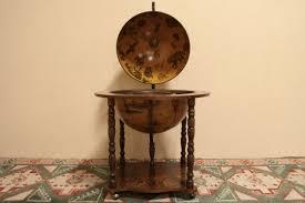 sold world globe antique replica liquor cabinet harp gallery