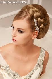 simple bridal hairstyle 17 best gelinlik sac modelleri bridal hair styles gelinlik