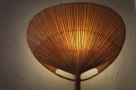 Bamboo Sconce Pair Of Ingo Maurer Uchiwa Bamboo Fan Sconces 1970s At 1stdibs