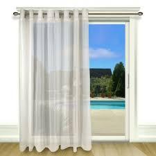 Patio Door Curtain Sheer Patio Door Curtains Wayfair