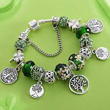 charms bracelet online images Stering 925 silver tree of life fashion pandora bead bracelet jpg