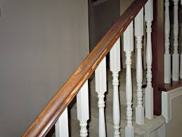 Pictures Of Banisters Updating A Painted Banister With Gel Stain