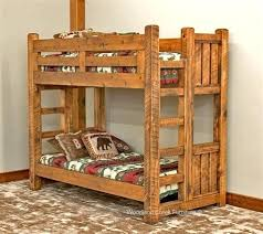 Barnwood Bunk Beds Barnwood Bunk Beds Keepassa Co