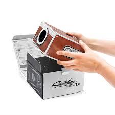 cardboard mini smartphone led projector diy mobile phone projector
