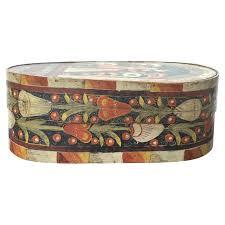 antique swedish painted wig box kim faison antiques