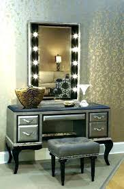 Glass Makeup Vanity Table Vanity Table With Lighted Mirror Archive With Tag Makeup Vanity