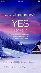 will it snow pro snow condition and weather forecast alerts