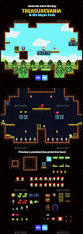8bit halloween background game mockup 8 bit abyss pack mockup game assets and 2d