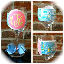 diy monogram wine glasses monogram wine glass sosfund