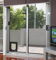 Cat Flap Patio Door Endura Flap Doggie Door For Sliding Glass Door Door Awesome