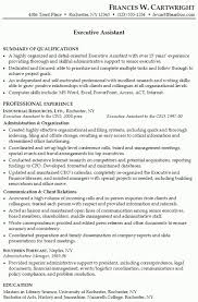 Sample Resume Of Executive Assistant by Personal Assistant Resume Sample U2013 Resume Examples