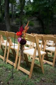 Fall Wedding Aisle Decorations - 36 awesome outdoor décor fall wedding ideas weddingomania