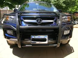 nissan armada brush guard anyone have pics w front grille acura mdx forum acura mdx