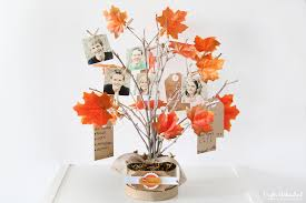 thankful tree diy family themed decor for fall