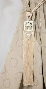 Drapery Tassel Tiebacks Best 25 Curtain Tiebacks Inspiration Ideas On Pinterest Curtain