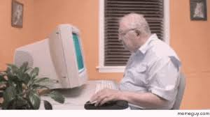 Old Guy Meme - old man vs technology meme guy